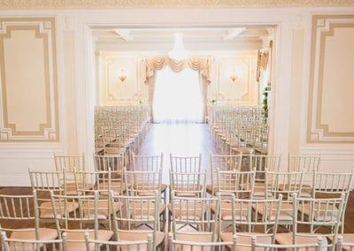 Grand Salon West Window Ceremony by Wisdom Watson Weddings