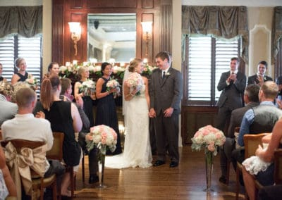 Third Level Ballroom Ceremony by Heather Brulez Photography