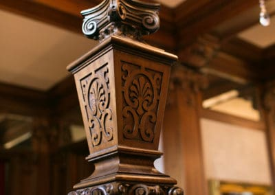 Foyer Detail by Anecdotally Yours