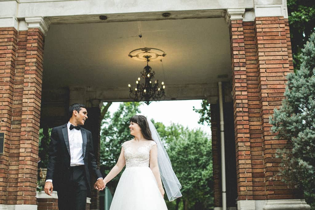 Featured Wedding: Jillian and Mukul
